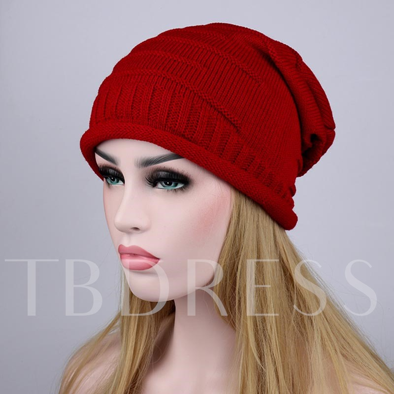 Hemming Knitted Pleated Wool Hot Sale Hats