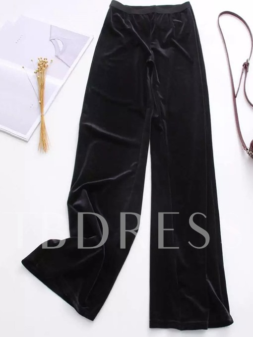 Loose Waist Elastic Women's Casual Pants