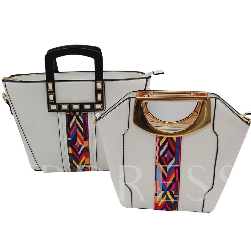 Ethnic Style Pattern Women Bag Set