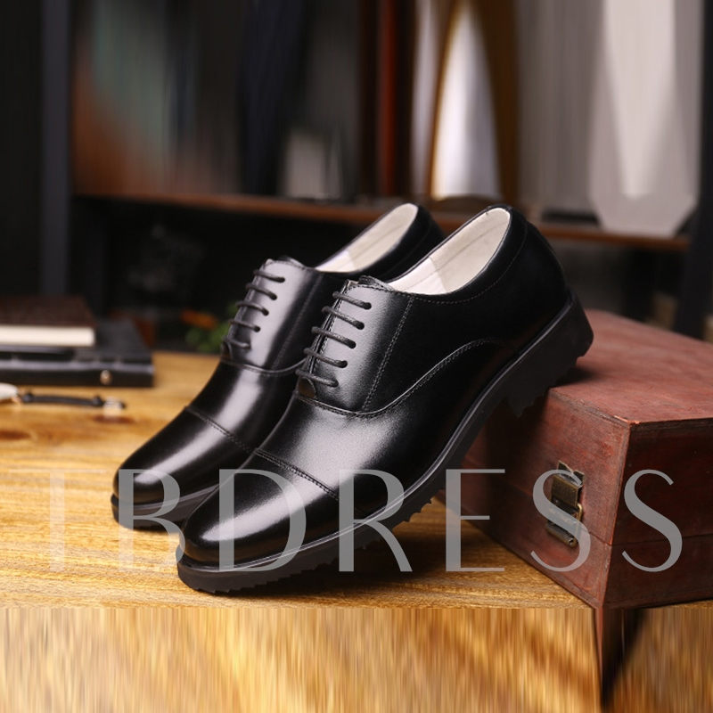 Men's Black Professional Shoes