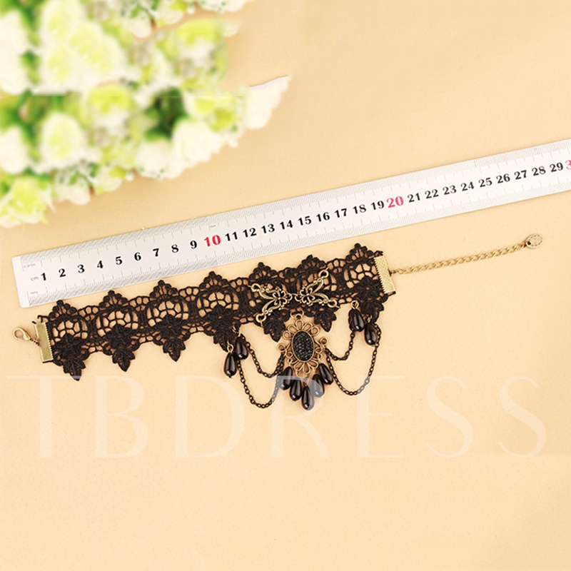Alloy Gold Plated Rhinestone Anklet