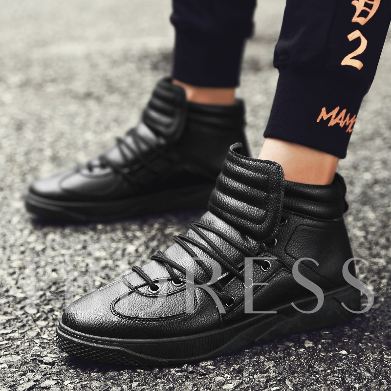 Round Toe Men's Casual Shoes