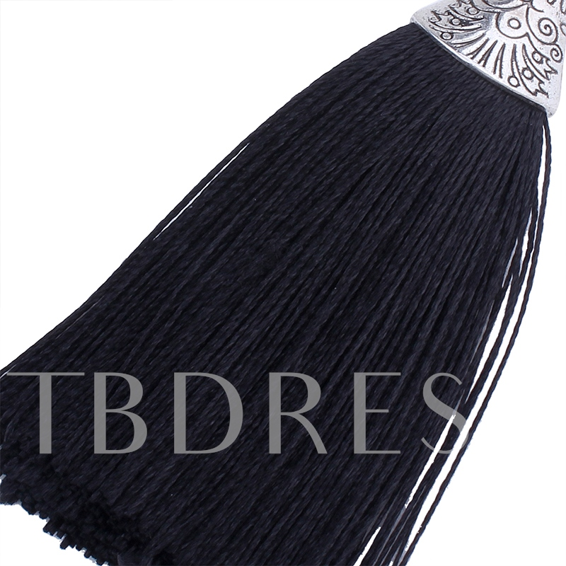 Alloy Polishing Colorful Hot Sale Tassel Earrings
