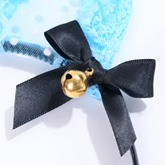 Bowknot Small Bell Lace Cat Ears Halloween Hair Accessories