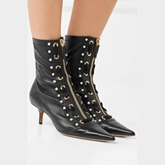 Pointed Toe Stiletto Heel Women's Ankle Boots