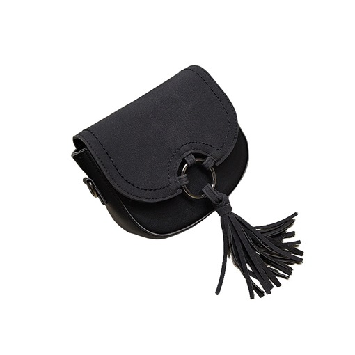 Vintage Tassel Matting Cross Body Bag