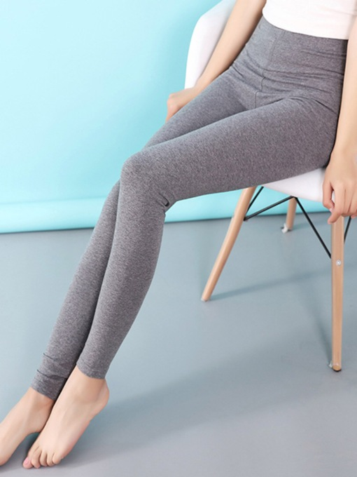 Slim Elastic High Waisted Women's Leggings