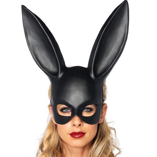 Long Rabbit Ears Masquerade Mask Halloween Hair Accessories