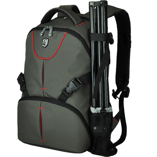 Casual Nylon Men's Camera Backpack