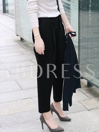 Fall Ankle Length Harem Women's Casual Pants