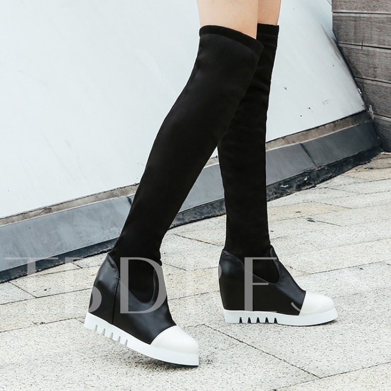 Plus Size Shoes Height Increasing Women's Thigh High Boots