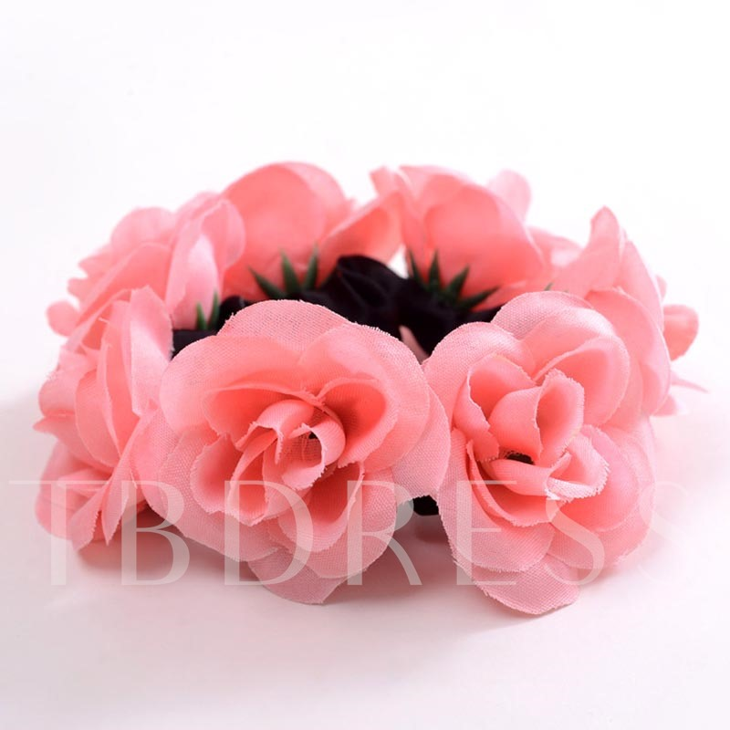 Flower Cloth Simulation Beach Hair Accessories