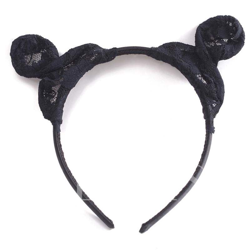 Lace Cloth Sexy Cat Ears Halloween Hair Accessories