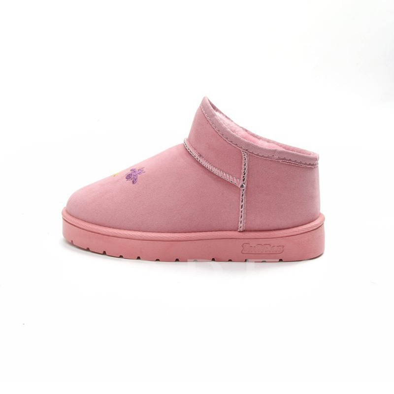 Korean Style Warmth Boots Flat With Women's Shoes