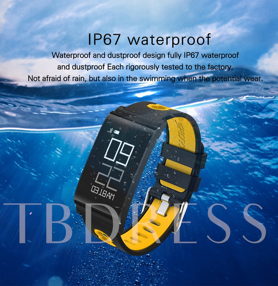 N109 Fitness Tracker Water Resistant Heart Rate Blood Pressure Oxygen  Monitor