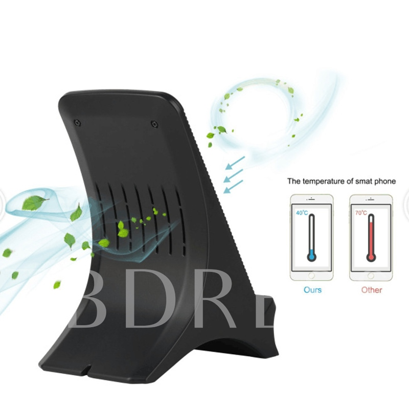 QI Wireless Fast Charger with Cooling Fan for Samsung S8 Note 8/iPhone X/8/8plus
