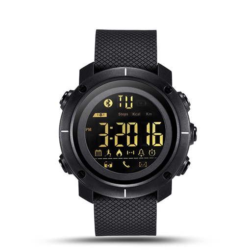 LEMFO LF19 Smart Watch 5ATM Waterproof Activity Monitor and Smart Clock Bluetooth Sync