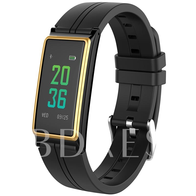 B5 Fitness Tracker IP67 Waterproof Calories Heart Rate Blood Pressure