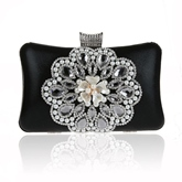 Luxurious Beads Rhinestone Decoration Evening Clutch