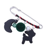 Reshin Hairball Imitation Alloy Christmas Women's Brooches