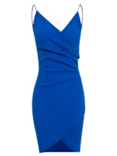 Spaghetti Strap Backless Women's Bodycon Dress