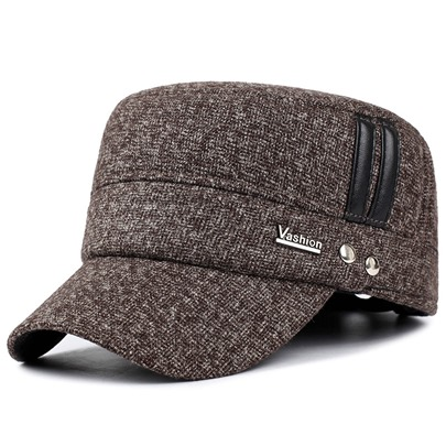 thicken middle-aged comfortable warmth mens hats