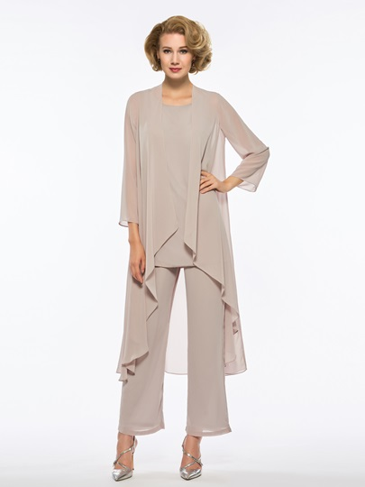 Mother of the Bride Jumpsuit with Long Sleeve Jacket
