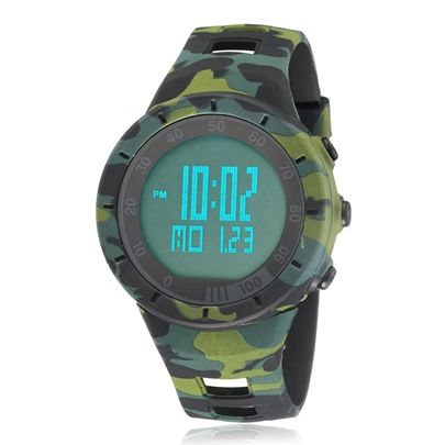 Camouflage Multifunctional Water Resistant Digital Men's Sports Watches