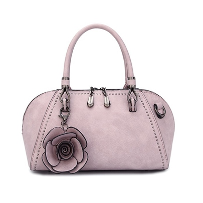 Vogue Floral Decoration Women Tote