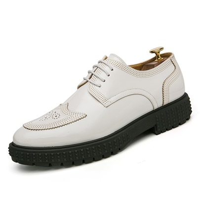Lace Up Hollow Bush Off Professional Shoes for Men