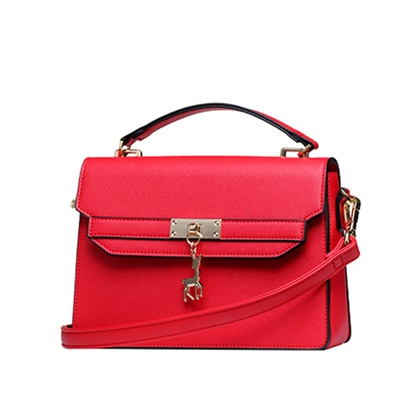 Korean Style Solid Color Women Cross Body Bag