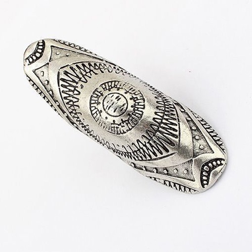 Carving Alloy Bohemian Knuckle Joint Conjoined Ring