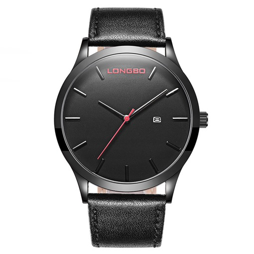 Buckle Strap Calendar Display Alloy Simple Men's Watches