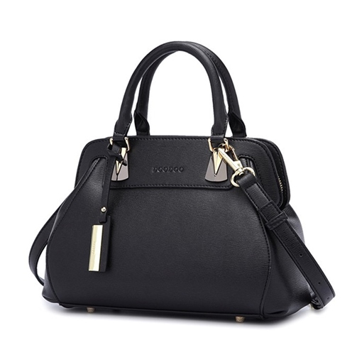 Concise Well-Match Solid Color Women Tote