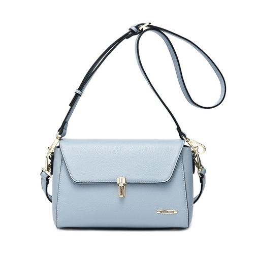 Simple Solid Color Women Cross Body Bag