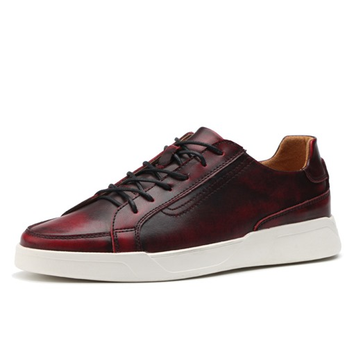 Bush Off Lace Up Skater Shoes for Men