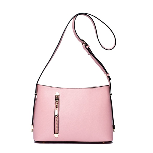 Simple Zipper Design Women Cross Body Bag
