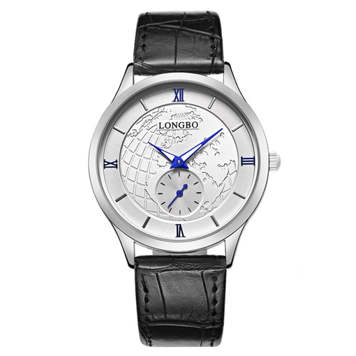 Personalized Earth Design Analogue Display Men's Watches