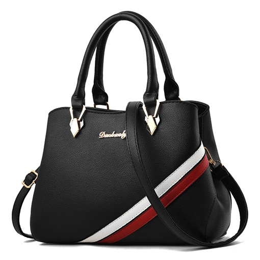 Casual Color Block Women Tote Bag