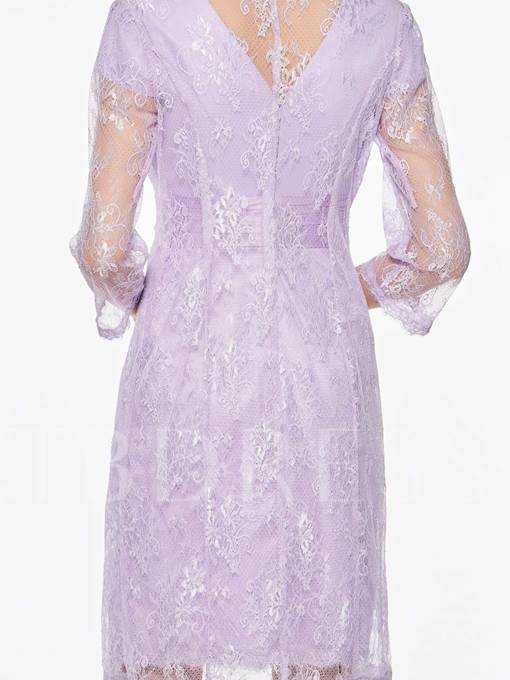 Cap Sleeves Lace Mother of the Bride Dress with Jacket