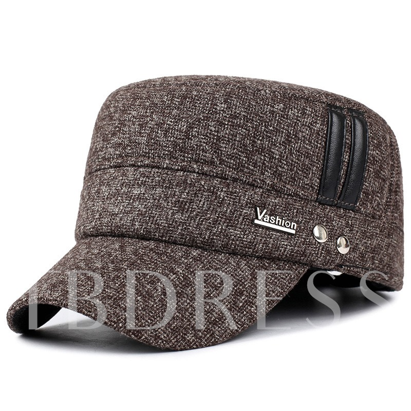 Thicken Middle-Aged Comfortable Warmth Men's Hats