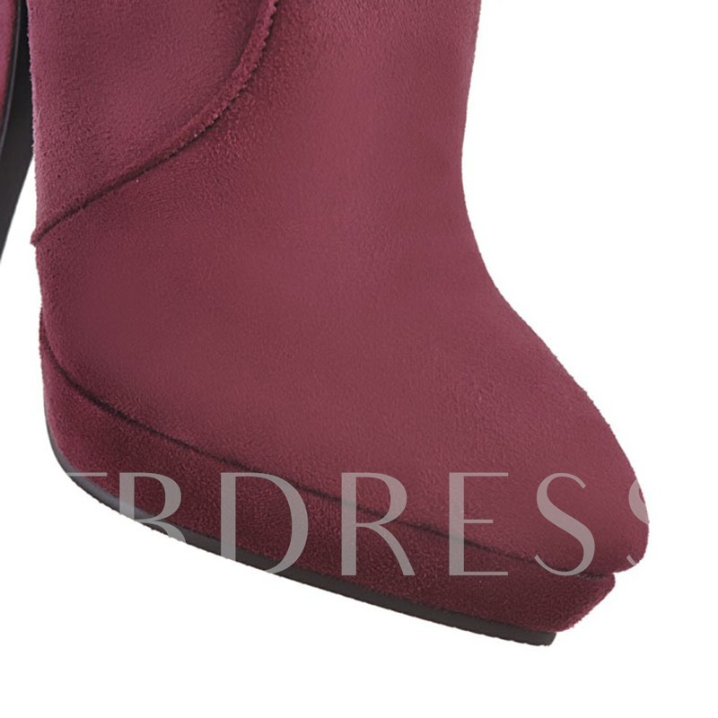 Plus Size Shoes High Heel Over the Knee Boots for Women
