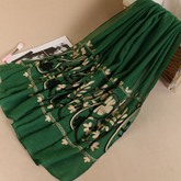 Cotton Embroidery Ethnic Urbanity Scarfs