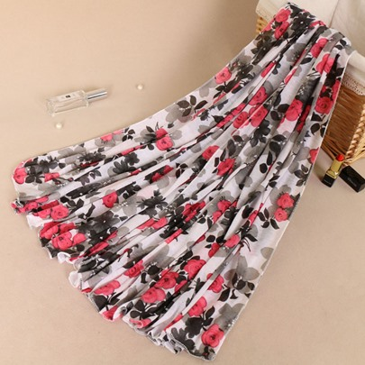 Hot Sale Print Moslem Kerchief Scarfs