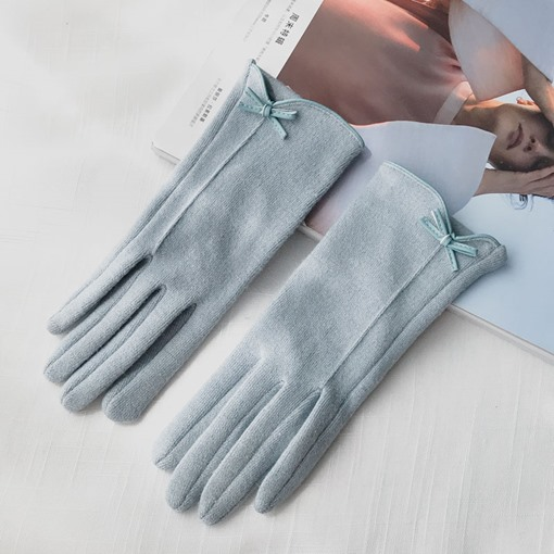 Hand-Type Touch Screen Cashmere Japanese style Gloves