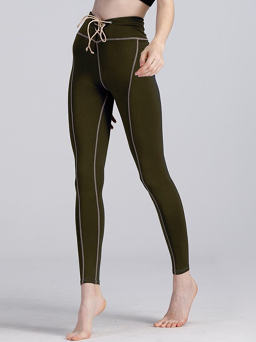 Tight Breathable Patchwork Women's Yoga & Running Pants