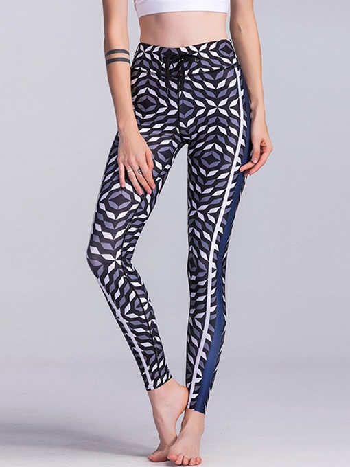 Patchwork Print Personality Yoga Leggings