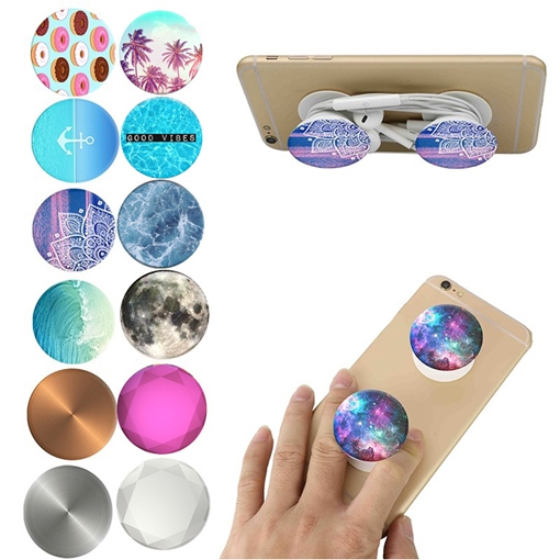 Fashion Cheap Pop Sockets Expanding Phone Stand for Apple Android Phones