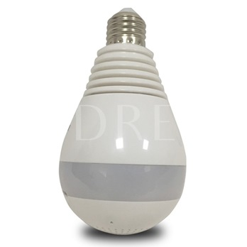 V380 Wireless Color Network Camera Intelligent Security Monitor Bulb Camera