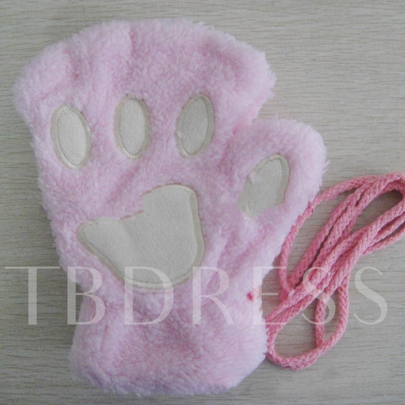 Cashmere Cats Claws Cute Cartoon Gloves